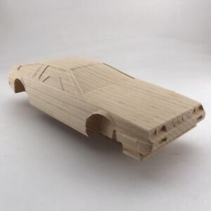 DeLorean Pre Cut Pinewood Derby Car Likeness #209 - Pre Made Wood Model Car