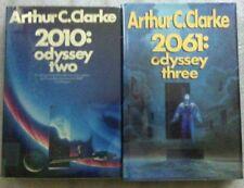 Lot #6-26 Arthur C. Clark - 2 Novels - 2010 Odyssey 2 & 2061 Odyssey 3 -HB