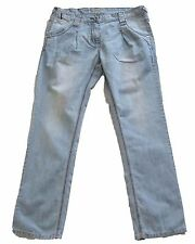 New Womens Blue Tapered NEXT Jeans Size 12 Petite L28 LABEL FAULT RRP £32