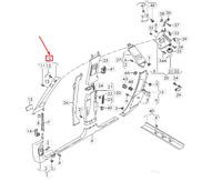 AUDI Q7 4M Left Upper A Pillar Trim 4M0867233K5D3 NEW GENUINE