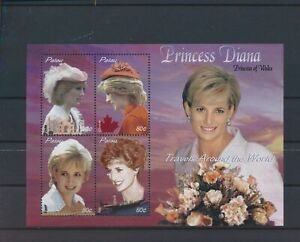 LO41079 Palau princess Diana fp good sheet MNH