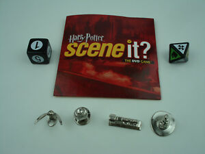 Harry Potter Scene It? 1st Edition Replacement Game Parts Pieces Tokens