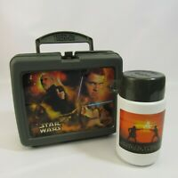 Star Wars Attack of the Clones Lunch Box with Thermos Plastic Lunchbox