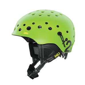 K2 Route Helmet Green multi sport ski bike