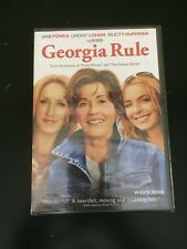 Georgia Rule (DVD, 2007, Widescreen Edition) Brand New Free Shipping A3