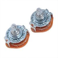 2 Pcs 4 Way Guitar Amplifier Rotary Switch