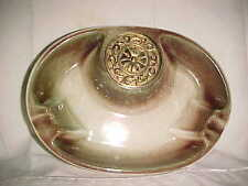 VTG The Hyde Park No 1950 Ceramic Pottery Ashtray  Made In USA NEVER USED  519