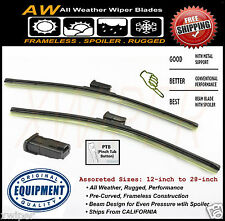 Volkswagen Jetta GL TDI Direct OE Replacement Premium ALL Weather Wiper Blades