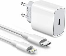 Chargeur Secteur Et Cable USB-C Type-C 5V PD iPhone12 Pro Max Adaptateur