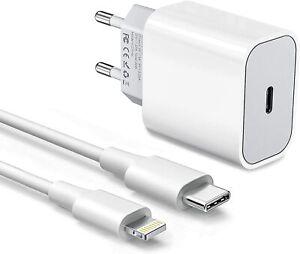 Caricabatterie E Cavo Usb-C Tipo C 5V Pd iPhone12 Professionista Max Adattatore