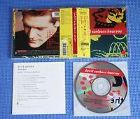 David Sanborn - Hearsay, Japan CD Obi +1 Bonus track