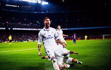 Poster A3 Sergio Ramos Real Madrid Futbol 07