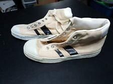 Vtg Canvas 1950s 1960s Jc Penneys Mens Size 8.5 Sneakers Shoes Converse Adidas