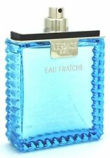 Versace Eau fraiche 3.4/3.3 Oz Edt Spray (Unbox) For Men New & Unbox By Versace
