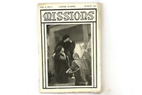Antique Missions Baptist Monthly Magazine Easter Number Vol. 4 No. 3 March 1913