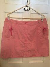 Women's Pink Skirt size 16 Cotton/Spandex By VENEZIA