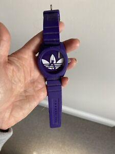 Adidas Purple Watch