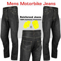 Motorcycle Denim Jeans Motorbike Pants Reinforced Protective Trousers CE Armour