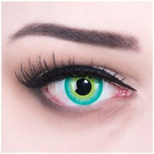 Coloured Contact Lenses blue Green Elf Contacts Color Carnival Halloween