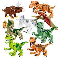8Pc Jurassic World Dinosaur Sets Building Toys Fits Lego - US Seller