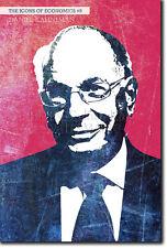 Iconos de la economía # 09-Daniel kahneman-única foto impresión de arte Regalo Econ