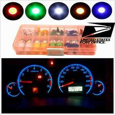 T5 T10 Mixed LED Bulbs For Panel Dashboard&Side Mrker & Backup Light 5050SMD #