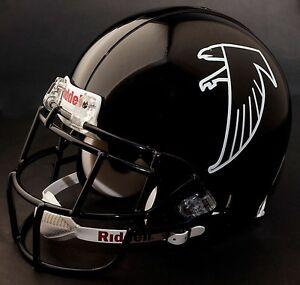 DEION SANDERS Edition ATLANTA FALCONS Riddell REPLICA Football Helmet