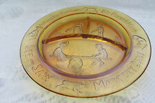 """Amber SEE SAW by MARGERY DAW WHERE ARE YOU GOING ~ MY PRETTY MAID  ~ 8½"""" Plate"""