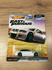 Hot wheels real rider Fast and furious Euro Fast BMW M3 E46