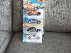 Hotwheels job lot x4 Ford Escorts mk1 all different