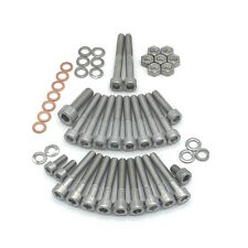 Simson S70 Motor Zylinderschrauben aus Edelstahl V2A Set 49 teilig