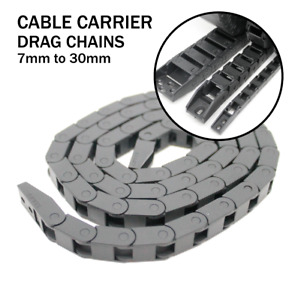 Cable Carrier - Drag Chain Tracks - Open & Closed - All Sizes 7mm to 30mm CNC 3D