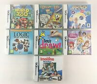 Nintendo DS / 3DS Game Bundle | 7 Games Included | Tested & Working | Mixed A1