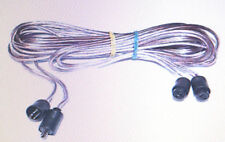 Bang  Olufsen  Speaker Cables 2Pin DIN Male to Female 15ft pr NEW