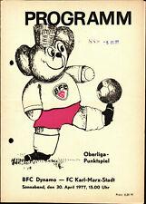 OL 76/77 BFC Dynamo - FC Karl-Marx-Stadt, 30.04.1977