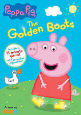 PEPPA PIG DVD - THE GOLDEN BOOTS (2016) - NEW UNOPENED - NICK JR