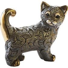 Rinconada Cat Figurine - Abanico Grey Cat 2018