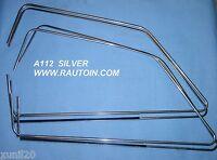 A112 Abarth GUARNIZIONI RASCHIACQUA VETRI GLASS TRIMS SILVER