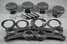 JDM NIPPON RACING 86MM SCAT RODS RRC CTR CIVIC TYPE R K20 FD2 PISTON SET NPR