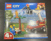 LEGO City Barbecue Burn Out 60212 64 Piece Building Toy Set Kit New In Box