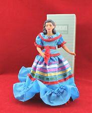 Vintage Avon International Porcelain Costume Doll Lupita from Mexico NIB 1990