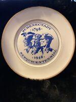1948 SCHENECTADY SESQUICENTENNIAL  SOUVENIR COLLECTOR PLATE 1798-1948, Tatler