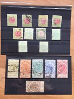 Queen Victoria South Australia Postage Stamps And Postage Due Stamps Sets