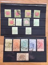 More details for queen victoria south australia postage stamps and postage due stamps sets