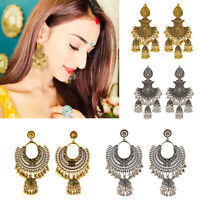 India Gold Silver Oxidized Stud Jhumka Indian Earrings Jewelry For Girls Women