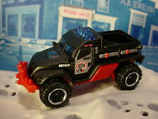 Mission Force:POLICE RESPONSE Exclusive ROAD RAIDER☆Black/Red;SWAT☆MATCHBOX