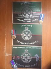 The Royal Green Jackets Service Plaque