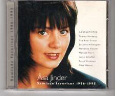 (HQ24) Asa Jinder, Samlade Favoriter 1986-1995 - 1995 CD