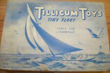 Vintage Milton Bradley Tillicum Toys Tiny Fleet #T-80~In Original Box