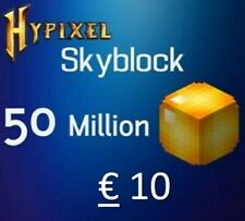 Hypixel Skyblock Coins 50 m Paypal or Ideal $10/€8,49